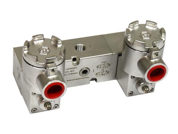 316L不锈钢隔爆电磁阀EXDIICT6LSW0620D3